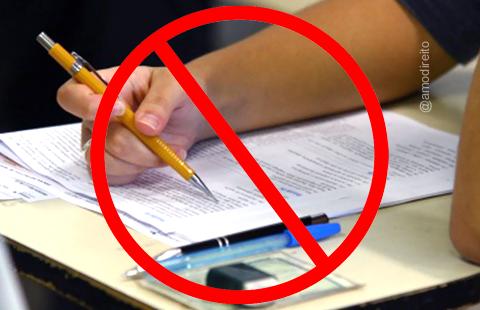 Proibido estudar